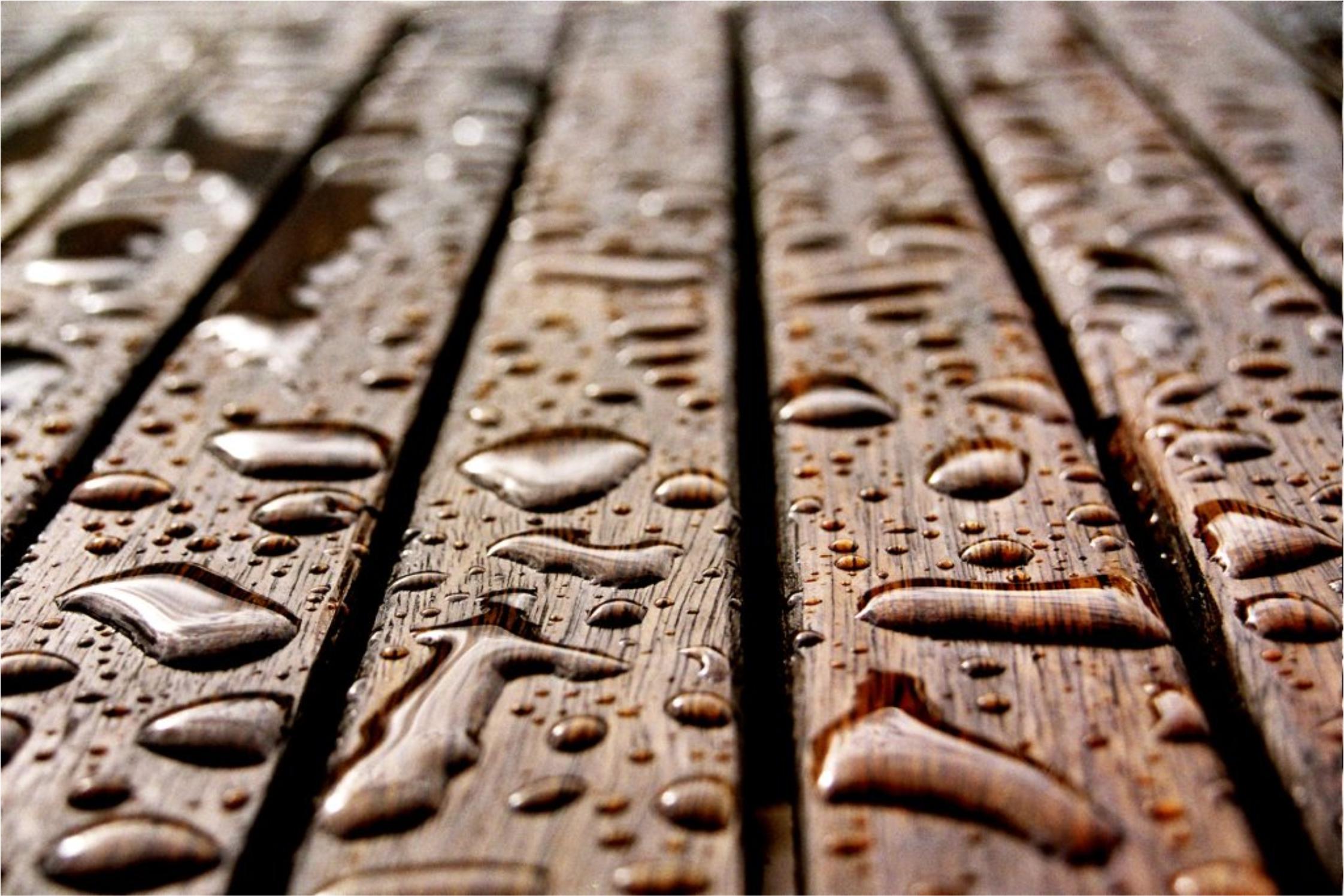 Deck de madera - Como impermeabilizar madera ...