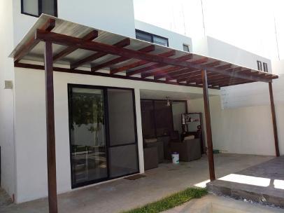 Pergolados for Cubiertas para techos livianas