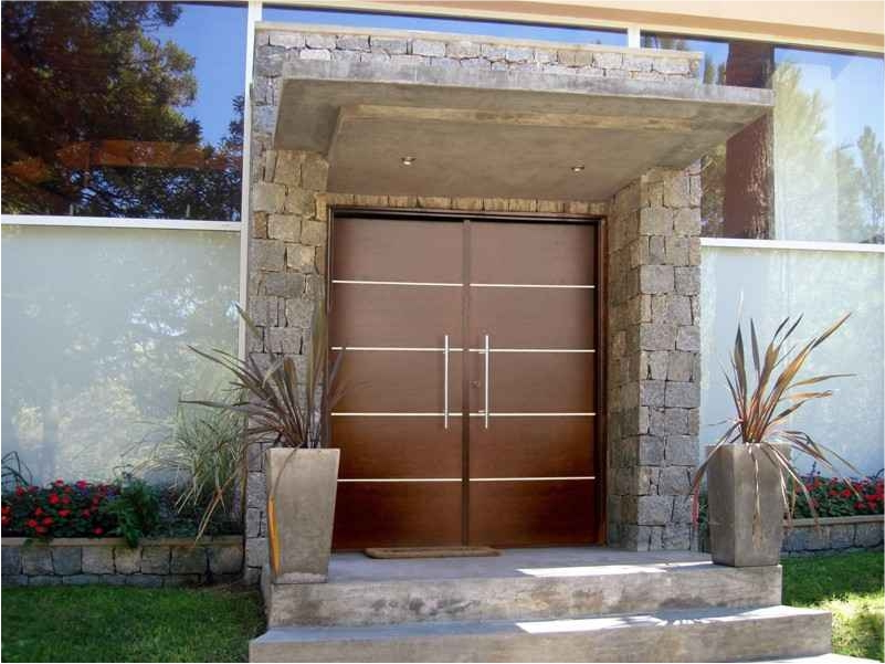 Grupodumex for Puertas de metal con vidrio modernas